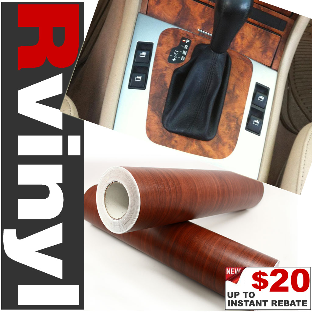 Wood Grain Vinyl Film - Oak